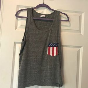 🔴FREE with $10 purchase🔴 USA flag pocket tank